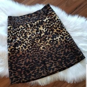 Women's Animal Print Skirt